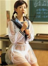 日本透明校服女孩图片 日本透明校服女生