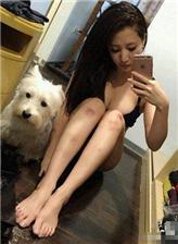 女生腿部图片头像大图