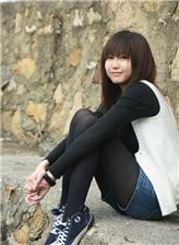 帆布鞋肉袜女孩图片
