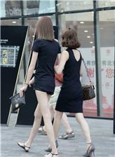 大长腿街拍图片只拍到腿的照片