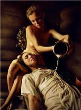 西洋油画中绝美女仙子