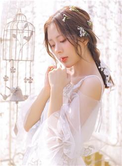 美丽的新娘雪儿