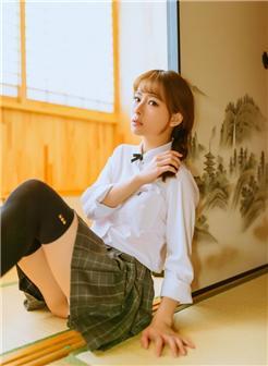 清纯美女短裙美腿 90后 写真