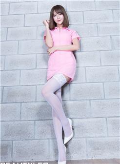 台湾腿模winnie蓝白写真集
