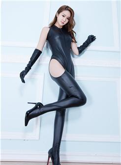 mm15美女写真情趣长靴高跟鞋极品身材露臀写真