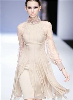 中国国际时装周胸漏出来图集