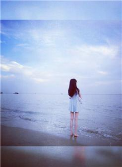 一个人孤独背影女生图片