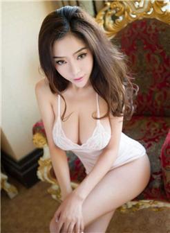 卷发少妇美女无罩全奶连体胸衣室内写真