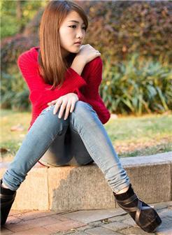 十五六岁女孩漂亮清新素颜照