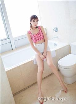 [女朋友好爽13p]小仙女格子衫细腿美女浴室写真自拍