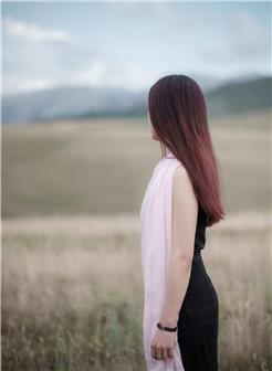 女生头像背影长发唯美大图