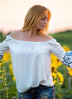 欧美美女向日葵背景唯美图片