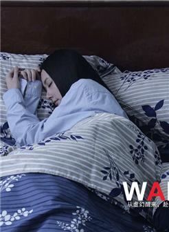 郭碧婷睡觉壁纸图片