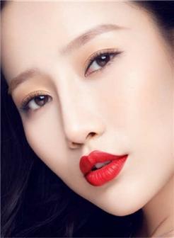 王梦婷性感红唇壁纸