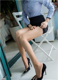 IESS异思趣向可乐蓝色夏日制服丝袜写真