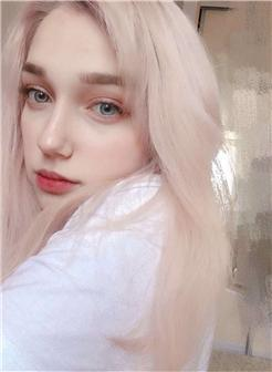 俄罗斯韩国混血ins网红小仙女 艾琳Irene真人照片