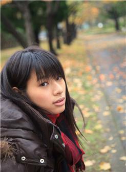 春菜花按摩师初秋户外街拍写真集