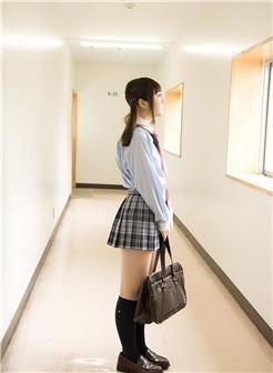 学生装超迷你短裙图片