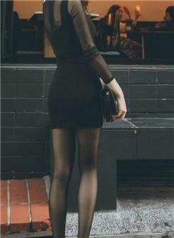 美腿控性感美女嫩模丝袜美腿包臀裙