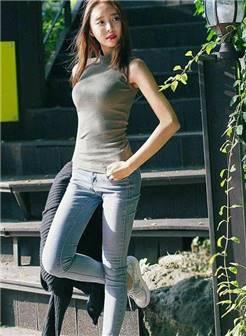 时尚街拍, 牛仔裤穿出新时髦