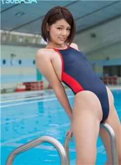 日本泳衣美女翘臀写真诱惑