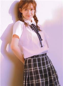 学生制服美女图片高清手机壁纸
