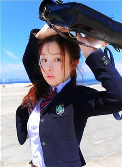 学生制服美女清新唯美写真图片
