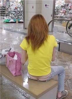 美女低腰裤露了毛毛图集锦