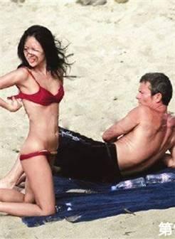 章子怡最想删掉的沙滩照