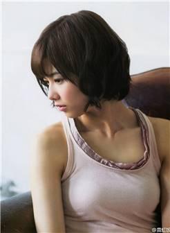 日本美少女渡边理佐杂志大片 优雅迷人