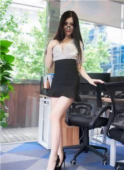 长腿女秘书沈梦瑶性感大胸诱惑销魂迷人翘臀大胆写真图片