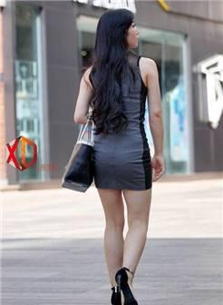 街拍紧身包臀裙, 丰腴饱满的女人更适合做媳妇, 极具旺夫相