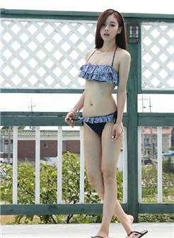 韩国美少女珠珠性感泳装