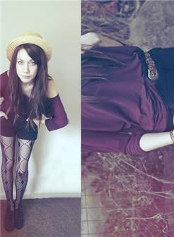 长腿丝袜控美女展示