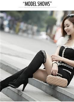 长靴美女写真 高跟凉鞋美女写真