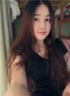 清纯长发女神自拍照,好一个气质佳人