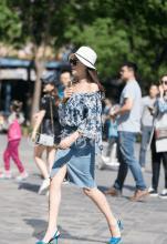 路人街拍, 北京路人美女的时尚夏季