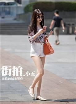北京路人街拍, 时尚美女, 纹身女孩, 优雅知性