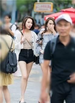 北京街拍,夏季流行搭配,打造路人中的主角.