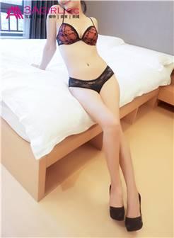 [3agirl]aaa女郎 长腿美女小琳蕾丝内衣火辣摆拍no.547