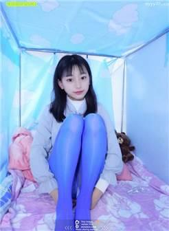 小女友萌萌 蓝色丝袜 红色丝袜 肉丝还有白丝