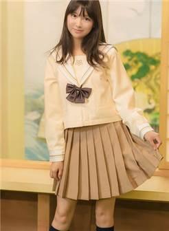 放学后的日系美少女