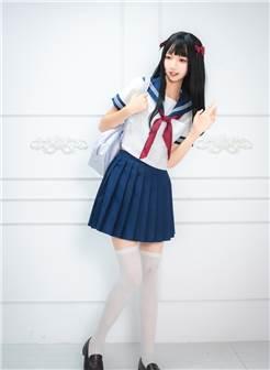 瞄糖映画 vol-012 长发 jk 白丝少女制服