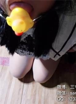 【网红少女】三寸萝莉—白丝