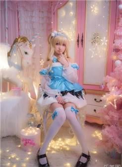 白丝美腿少女lolita裙装小姐姐超好看