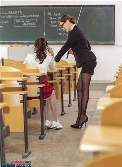 陈雅漫软皮皮美丝学校写真