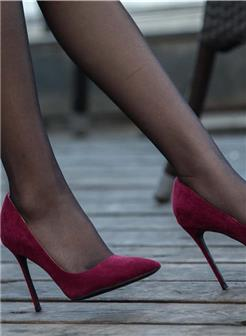 玉足细跟凉高跟鞋美女性感照片