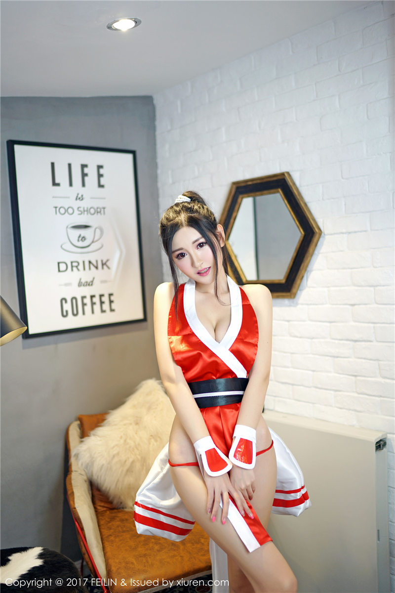 沈梦瑶cos不知火舞长腿巨乳火辣写真图片(点击浏览下一张趣图)