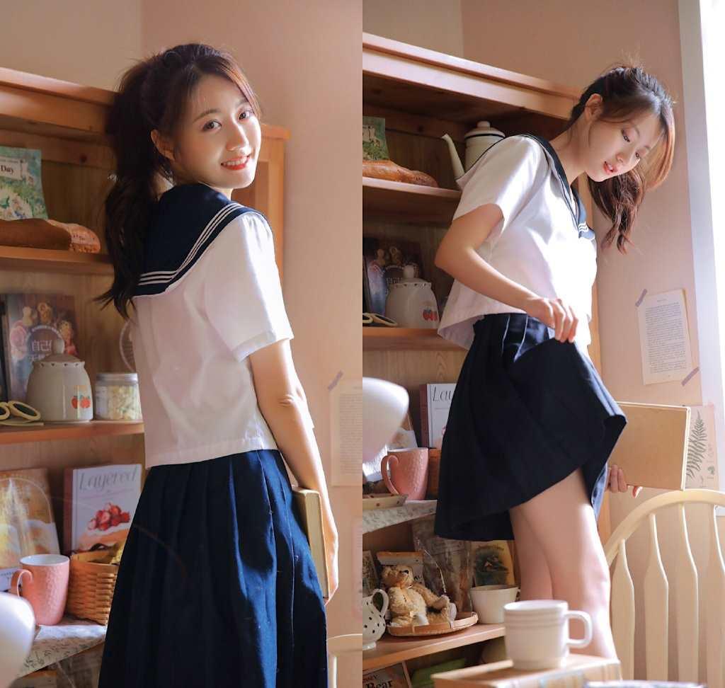 女学生服水手服cos(点击浏览下一张趣图)